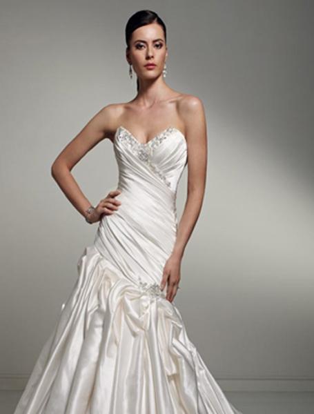 Sophia Tolli Style Vega Sample Wedding Dress