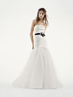 Vera Wang designer wedding dress,Style Mikado - £1,150 from The Wedding Cottage